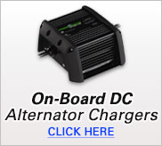 On-Board DC Alternator Chargers